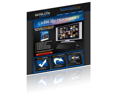 SateliteDirect - TV Networks from the Internet